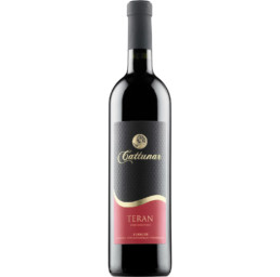 cattunar teran, Istrian teran, Croatian wine, Istrian wine online, Cattunar wine